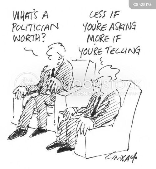 valuations cartoon