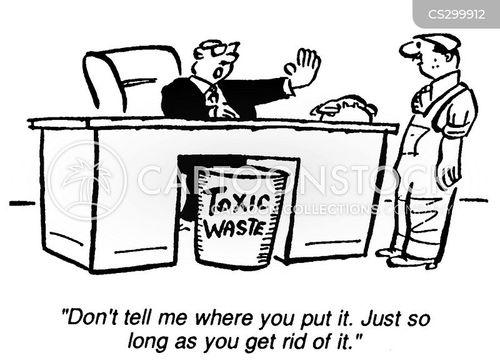 the environment cartoon