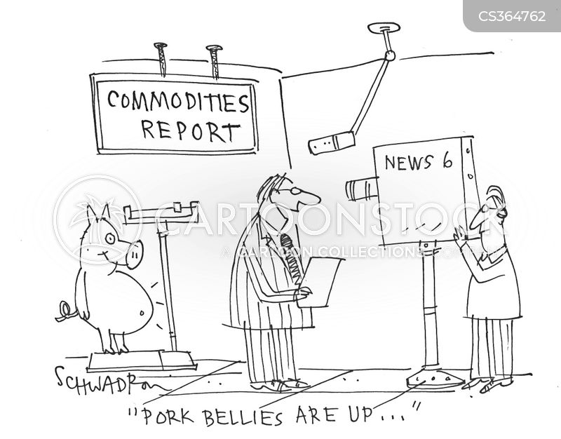 business commerce pork_bellies commodity commodities_report pig swine hscn1101_low pork belly cartoons and comics funny pictures from cartoonstock