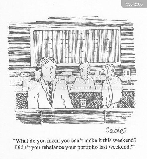 weekend plan cartoon