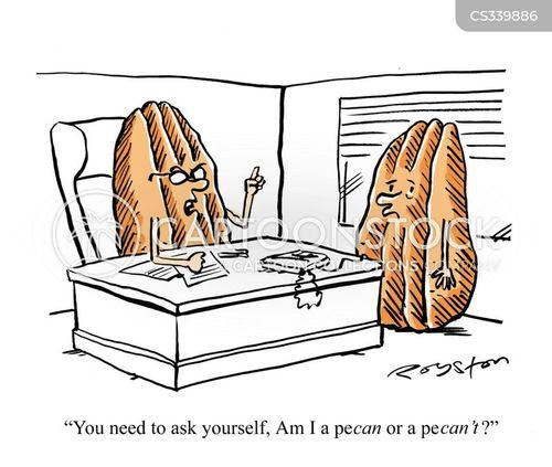 pecan pie cartoon