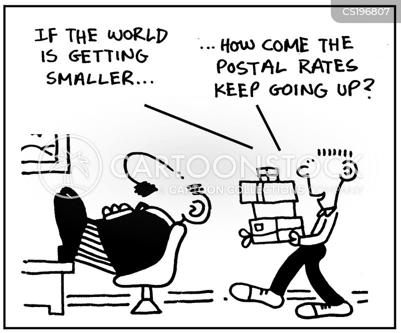 mail services cartoon