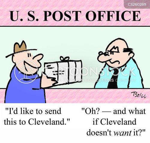 cleveland cartoon