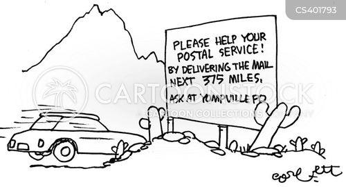 saturday delivery cartoon