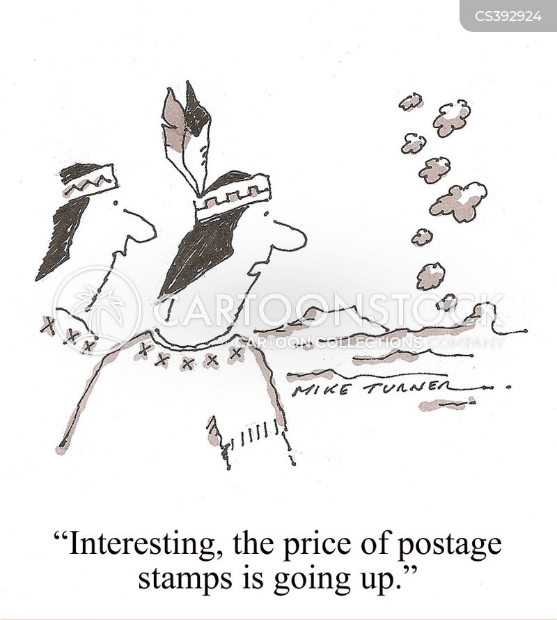 postages cartoon