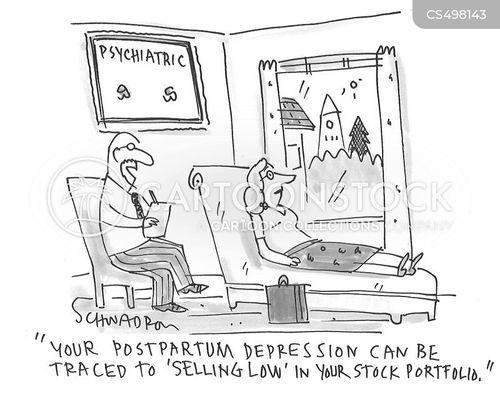 postpartum cartoon