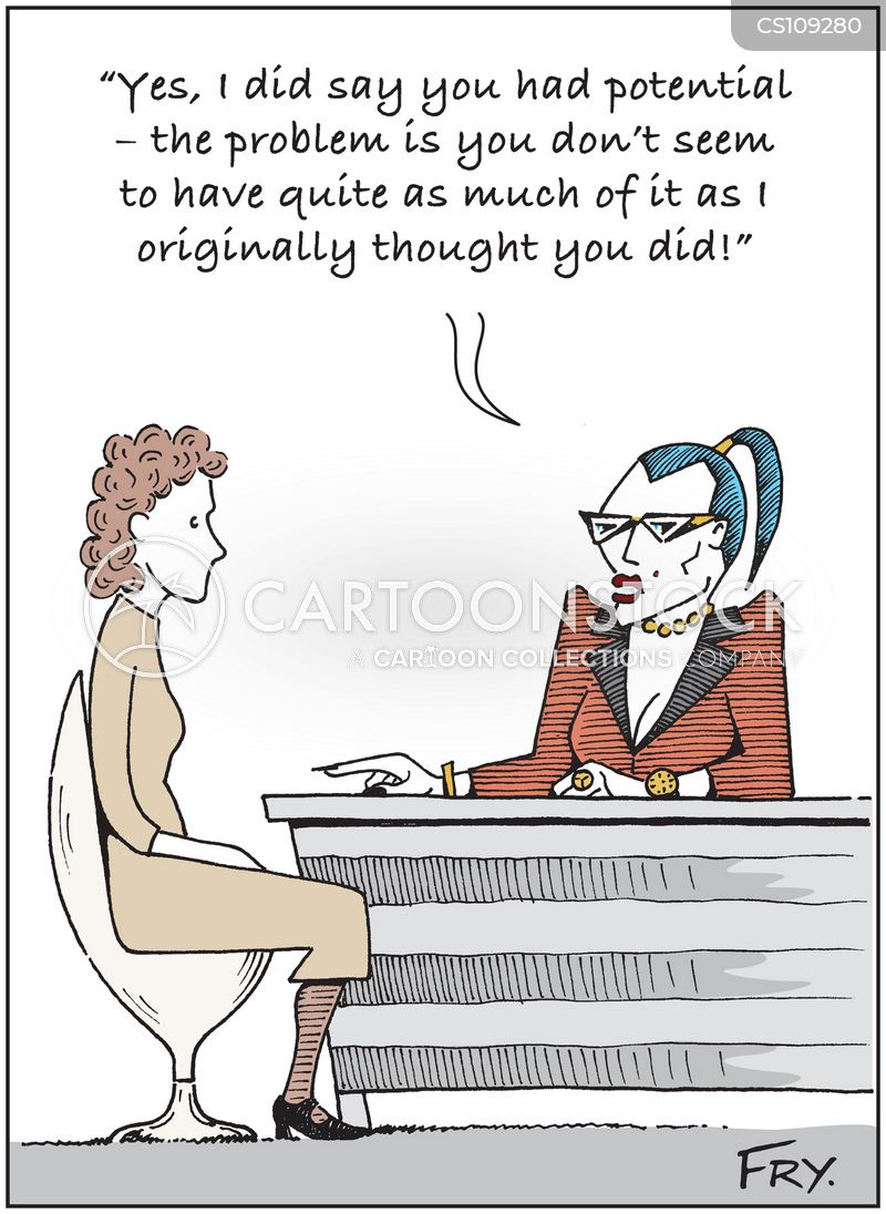employee assessments cartoon