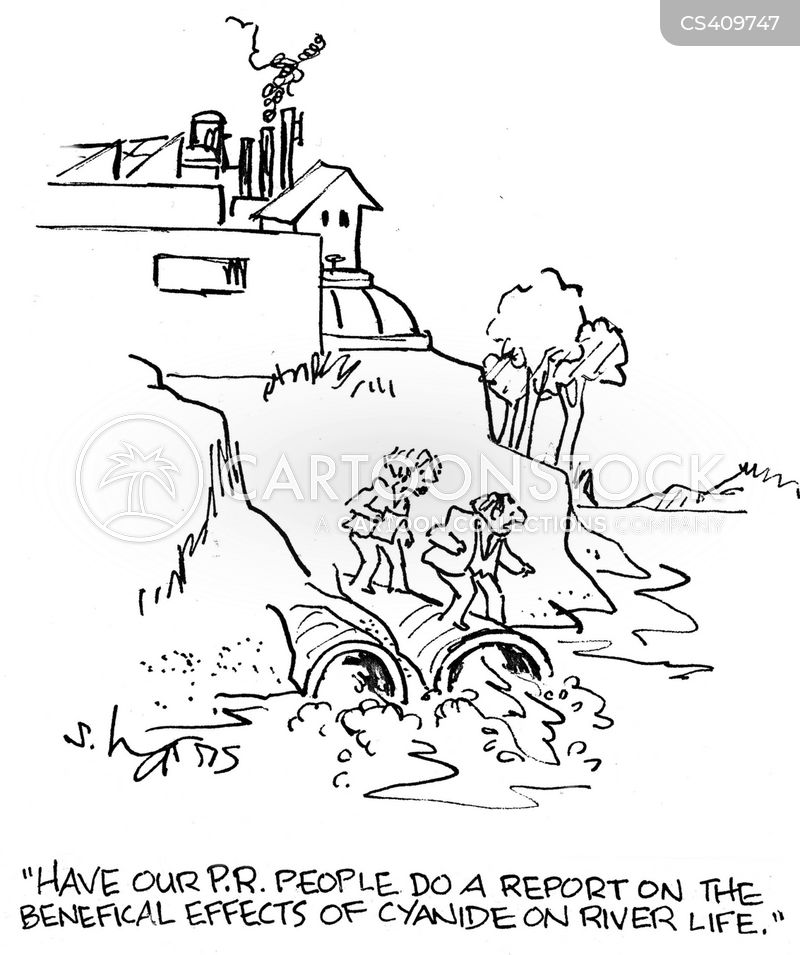 Industrial Cartoon Pictures Industrial Pollutant Cartoon 6