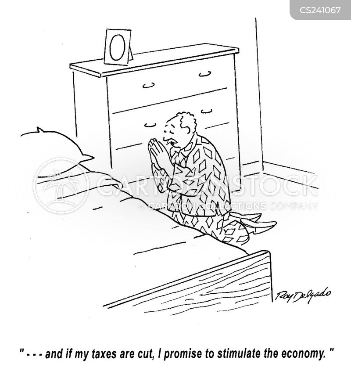 tax-cuts cartoon