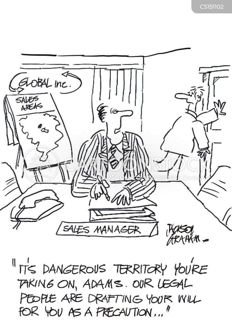 dangerous job cartoon