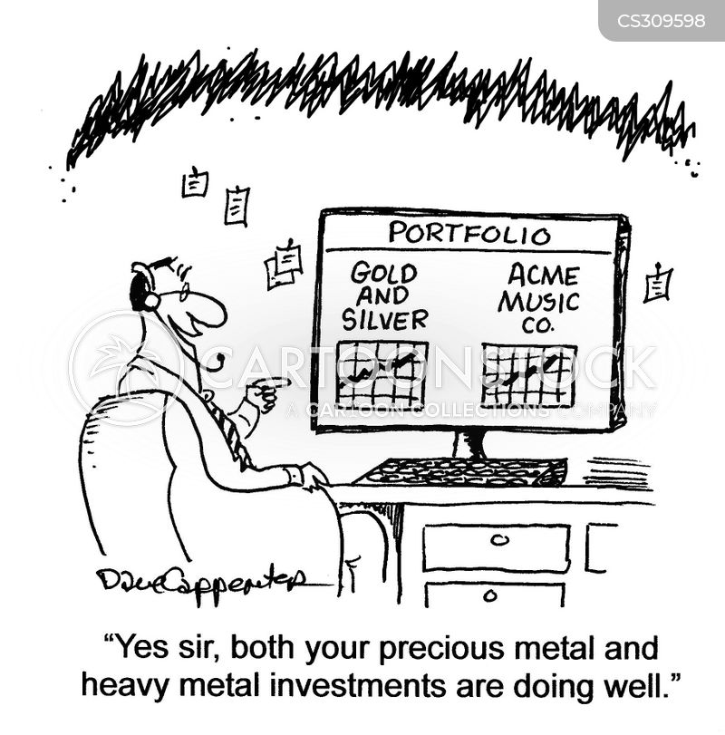 precious metal cartoon