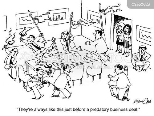 primitive behaviour cartoon