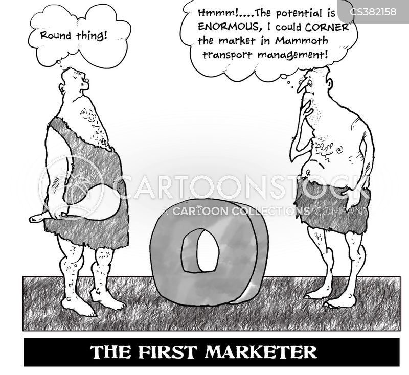 cornering the market cartoon