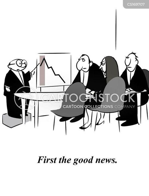 downturns cartoon