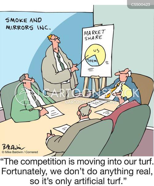 turf wars cartoon