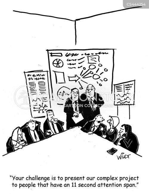 public speech cartoon