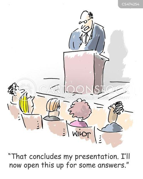q&a cartoon