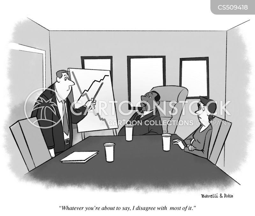 difficult boss cartoon