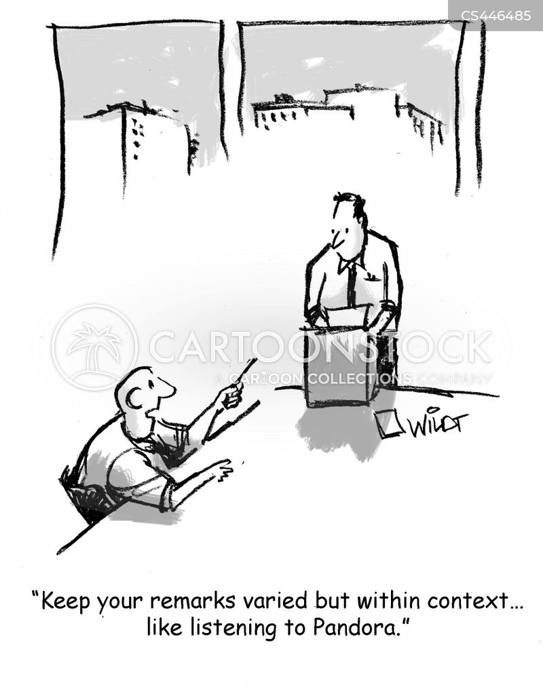 streaming service cartoon