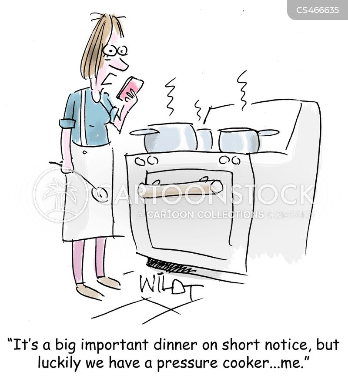 pressure cooker cartoon