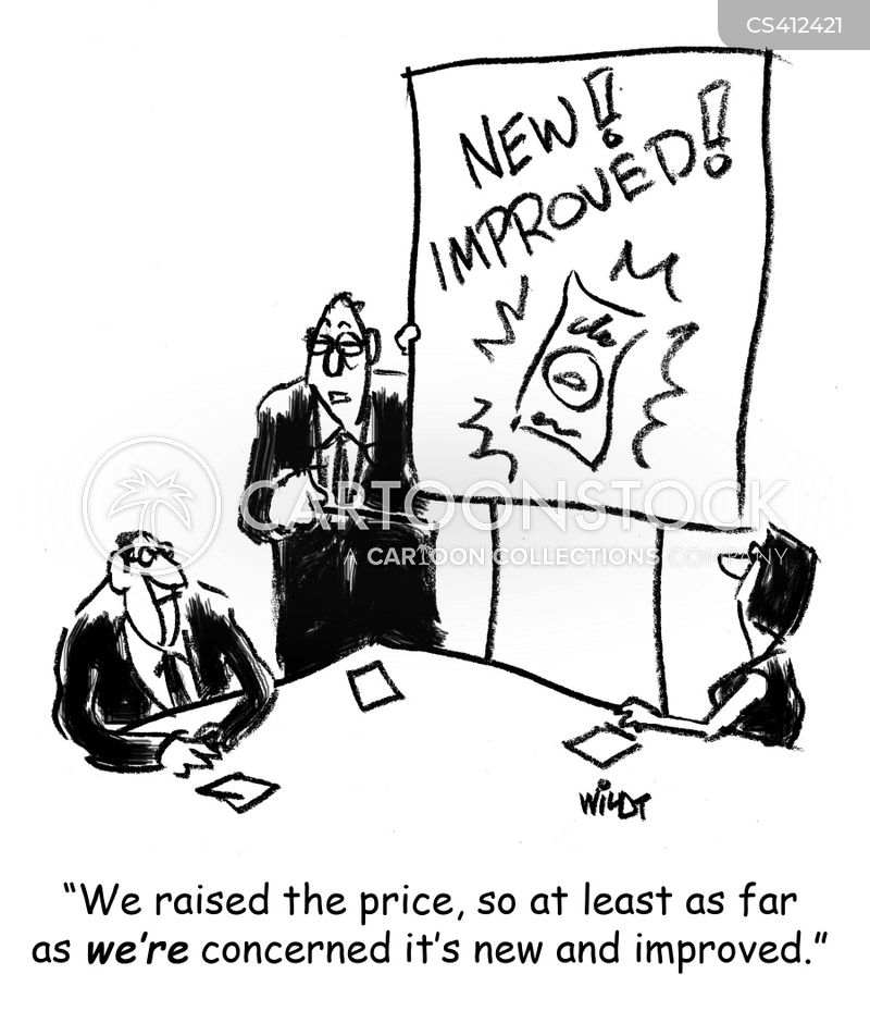 price hike cartoon