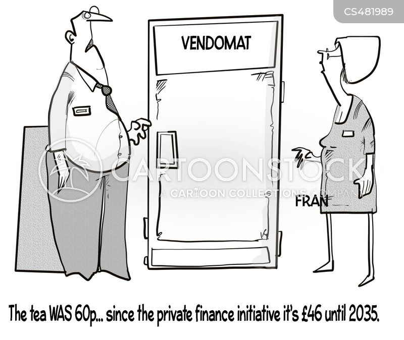 private finance initiative cartoon