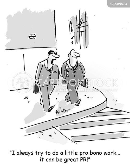 public relation cartoon