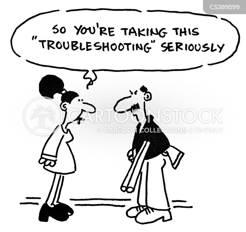 proactive cartoon