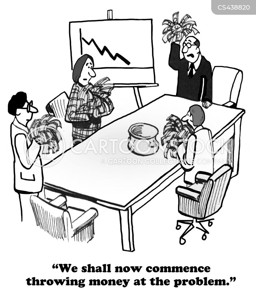 corporate strategy cartoon