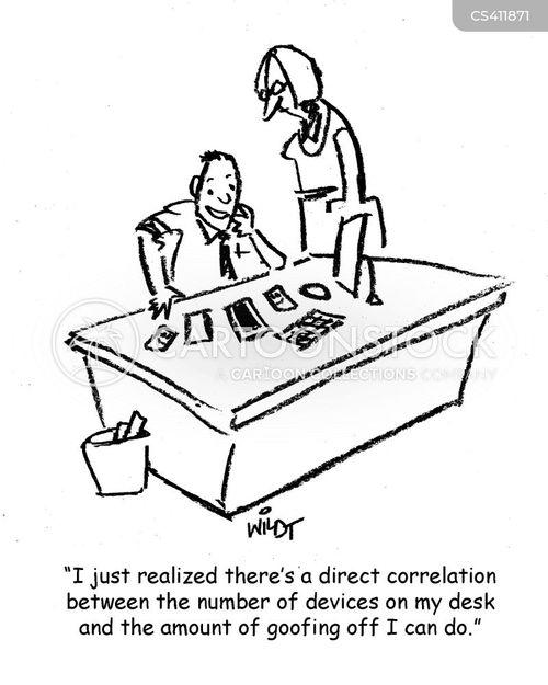 procrastinated cartoon