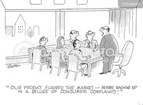consumer complaint cartoon