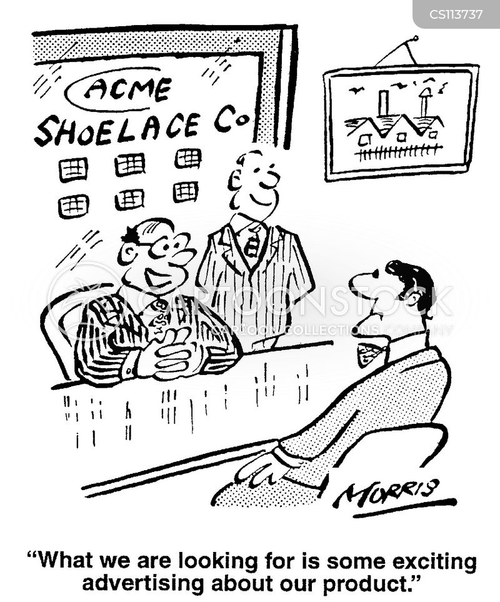 re-branding cartoon