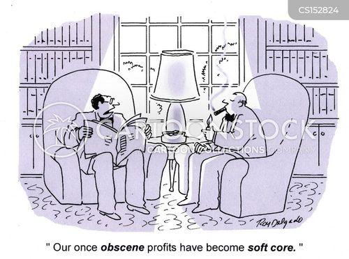 obscene cartoon