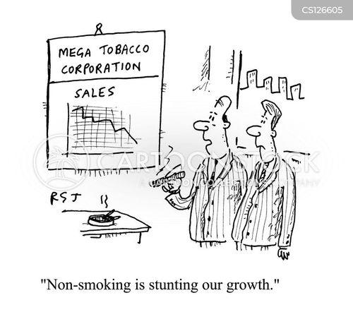 stunted cartoon