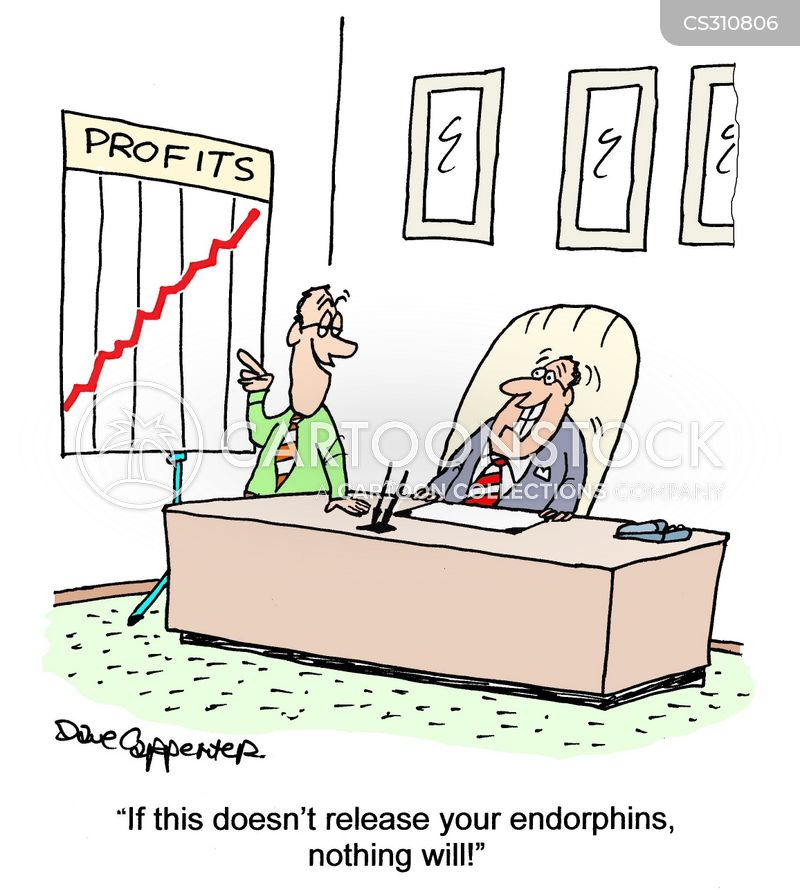 endorphins cartoon