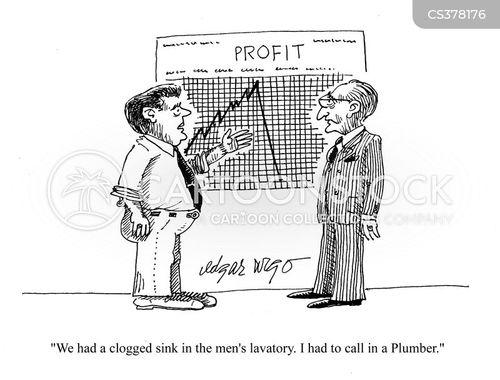 expensive plumber cartoon
