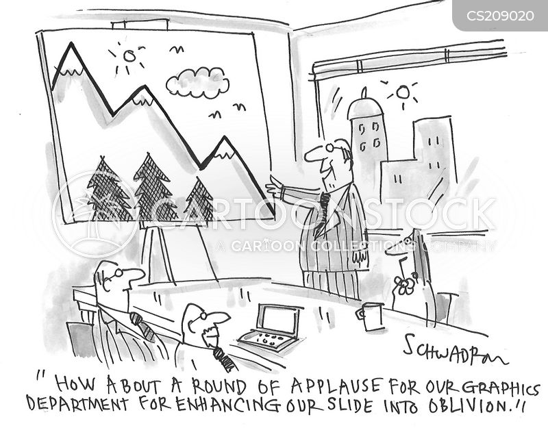 business presentations cartoon