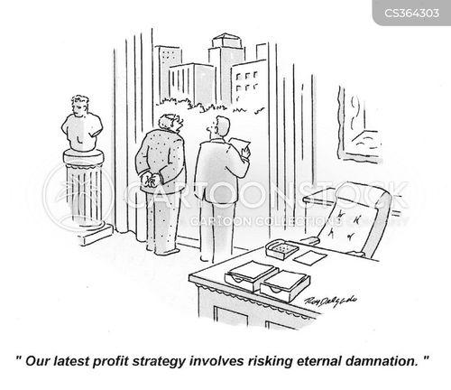 profiteers cartoon