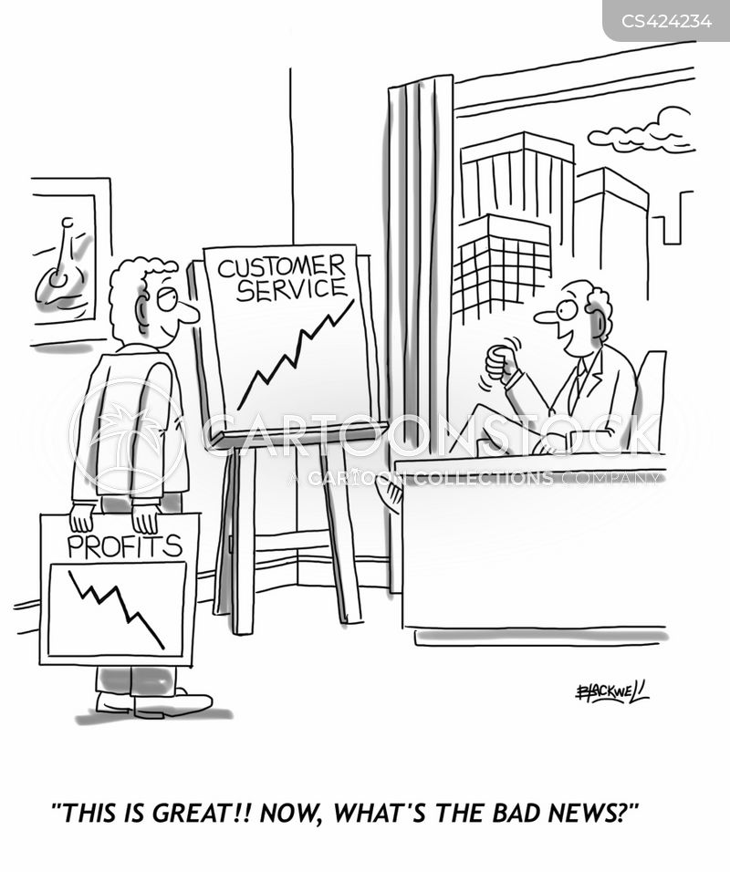 financial analysis cartoon