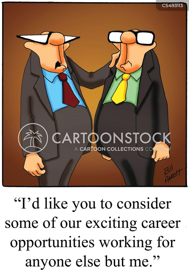 career opportunity cartoon