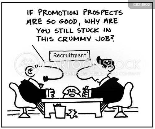 promotion prospects cartoon 1 of 3
