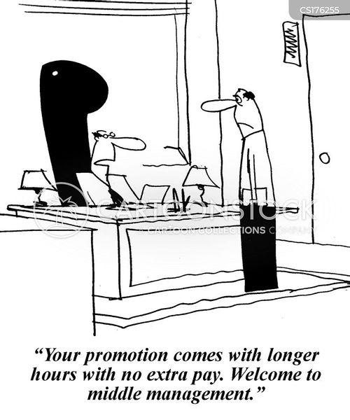 middle management cartoon