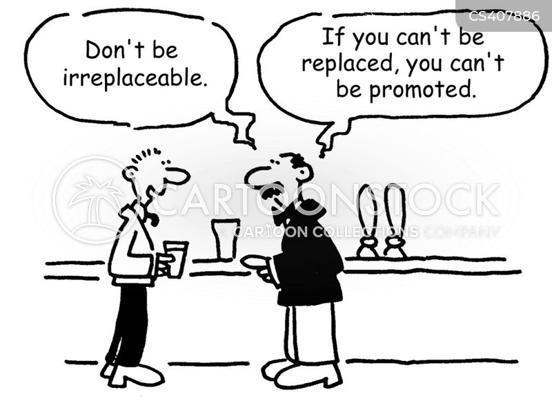irreplaceable cartoon
