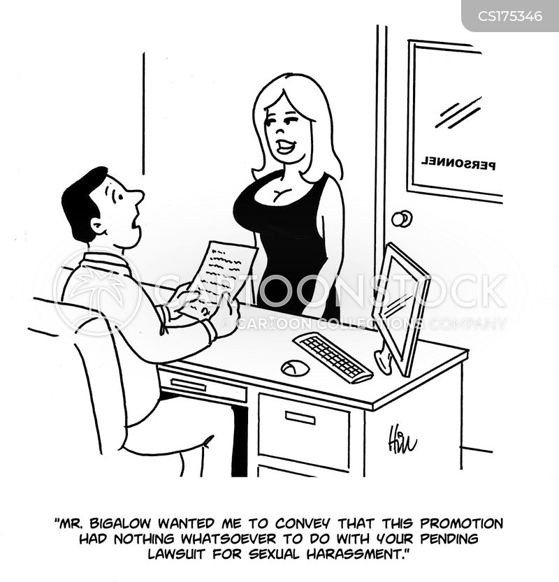 Funny sexual harassment cartoons images