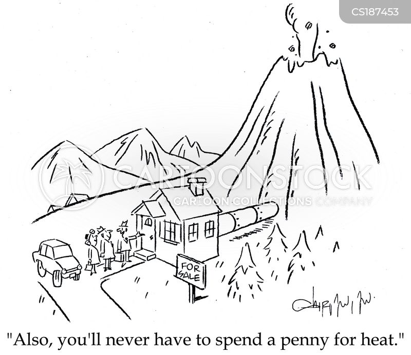heating bill cartoon