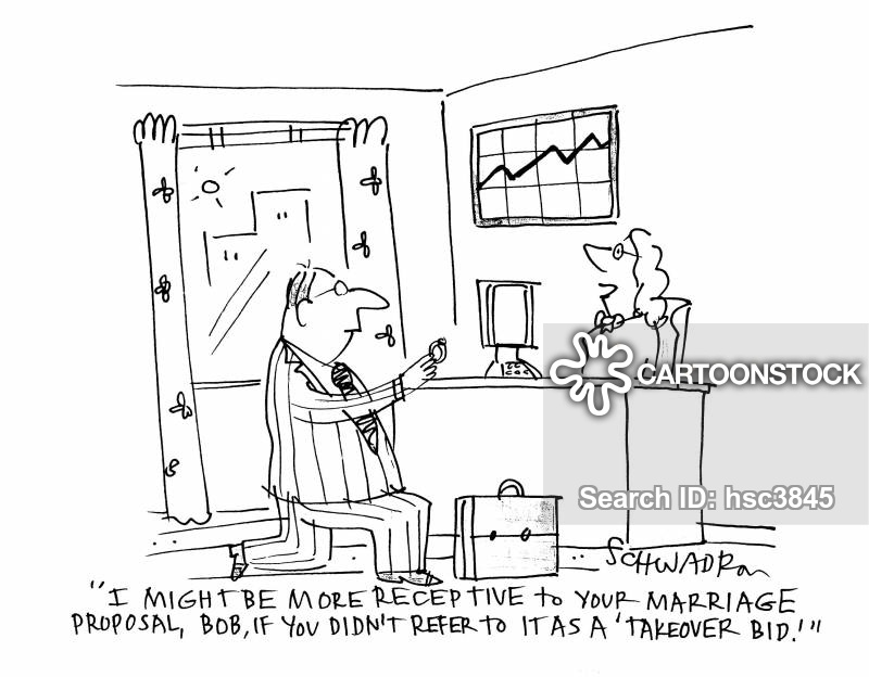 engagment cartoon