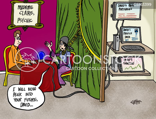 predictive analytics cartoon