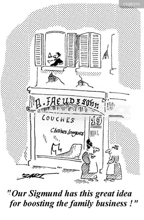 vienna cartoon