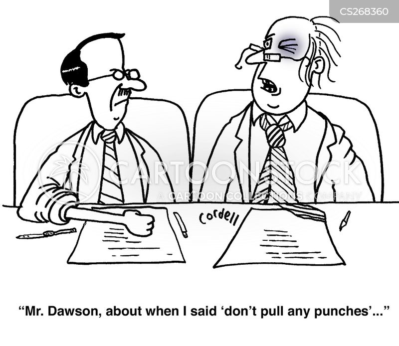 violence in the workplace cartoon