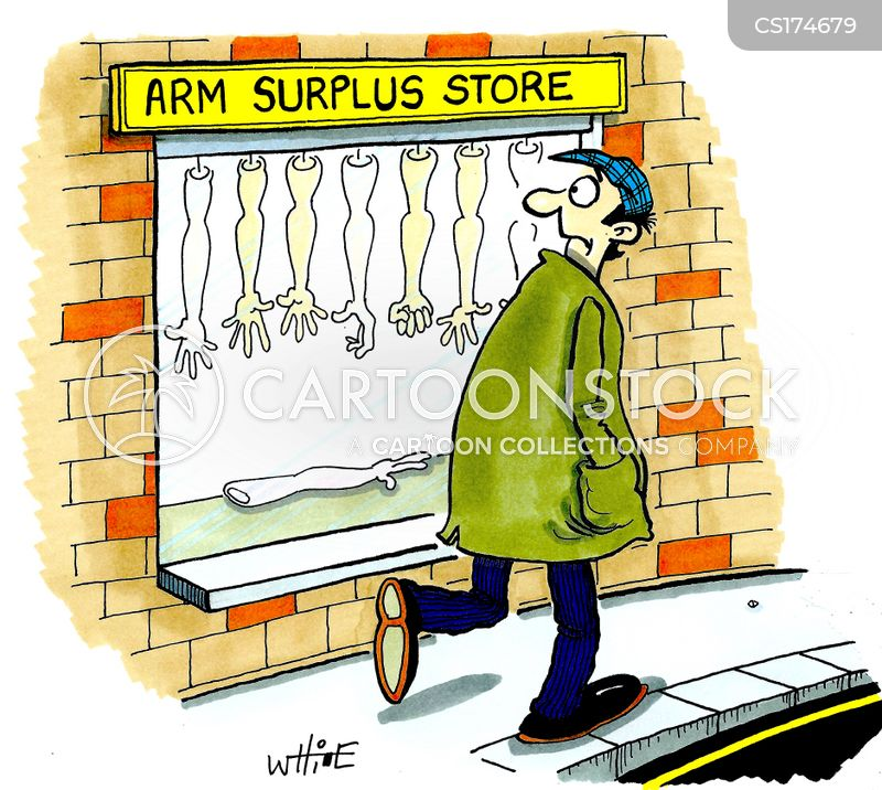 arm cartoon